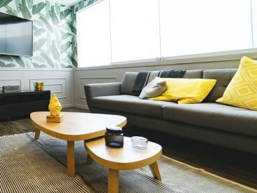 Interior Living Room Design House Pillow Couch